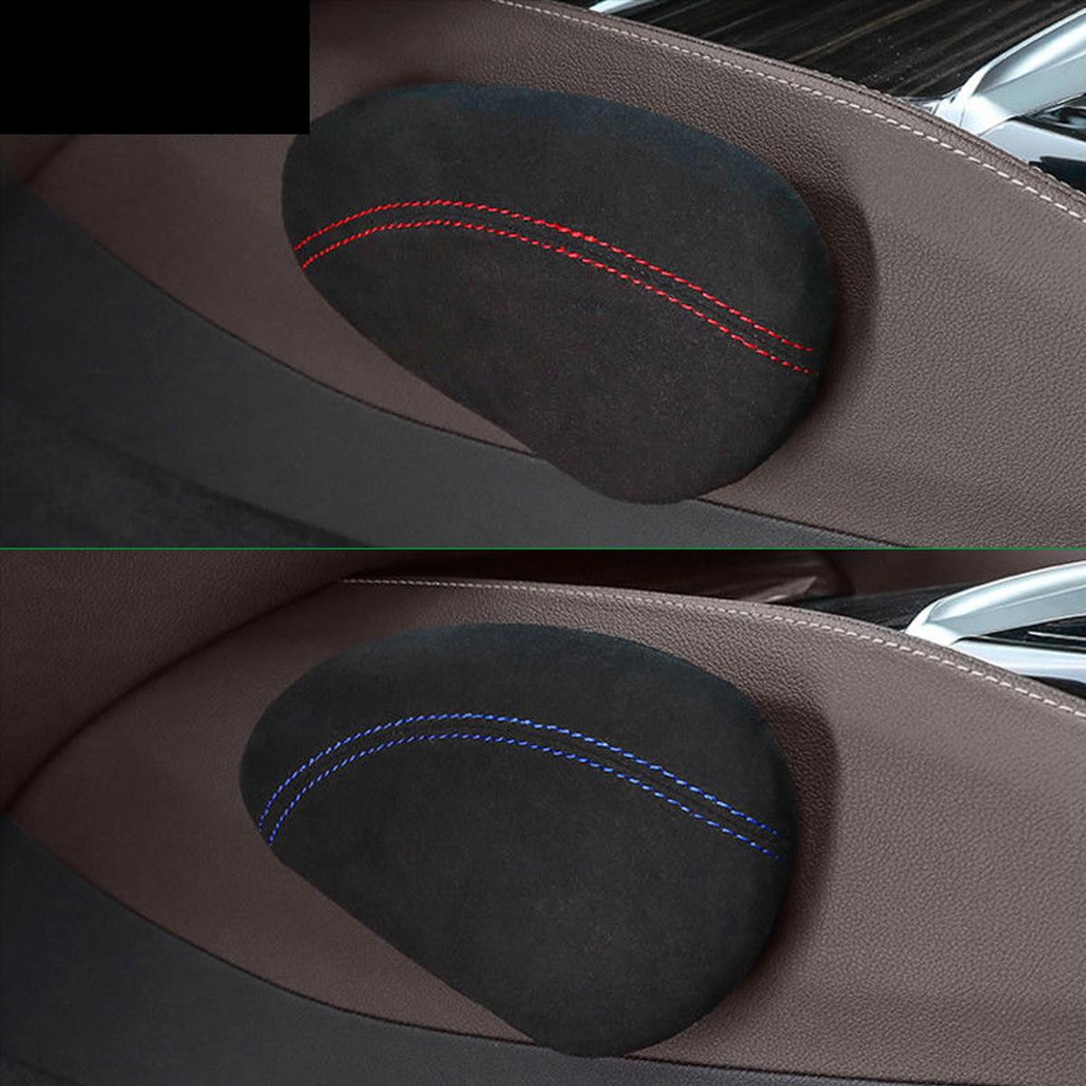 Leather Car Knee Pad Leg Cushion Thigh Support Pillow Interior for BMW X5 X6 E52 E53 E60 E90