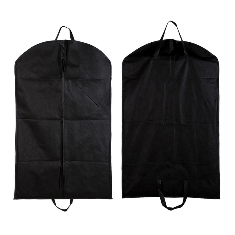 Portable Dustproof Clothes Garment Suit Cover Protector Bags Hanger Travel Storage Organizer