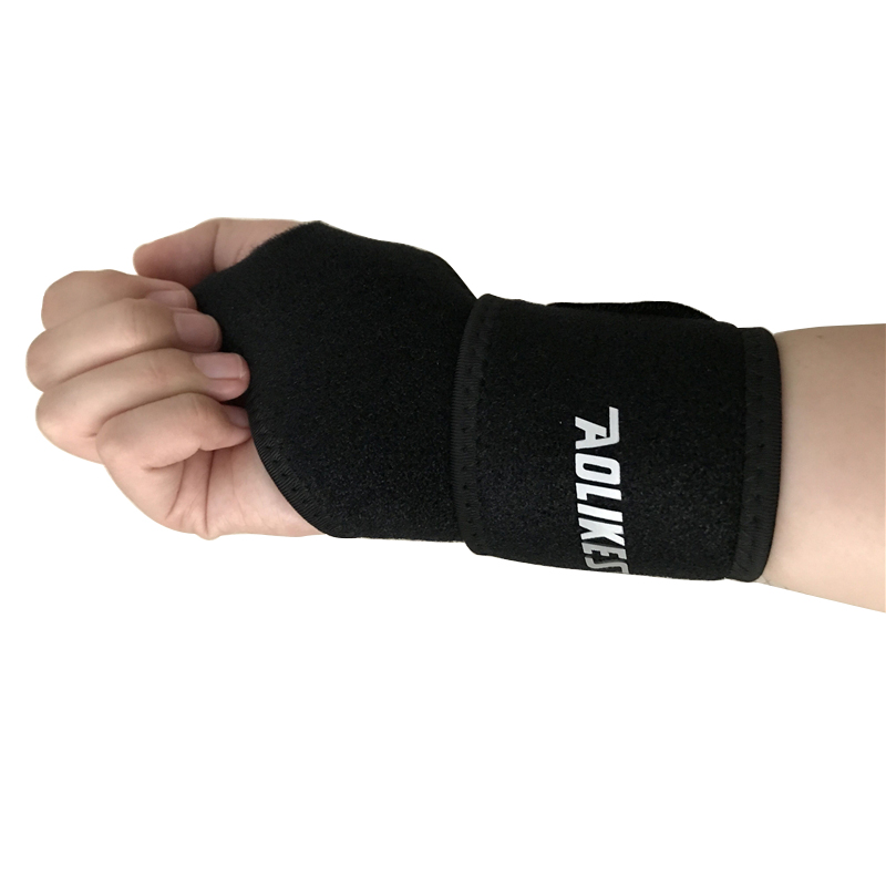 AOLIKES® Compression Wrist Support Brace Adjustable Hand Sport Protect Strap
