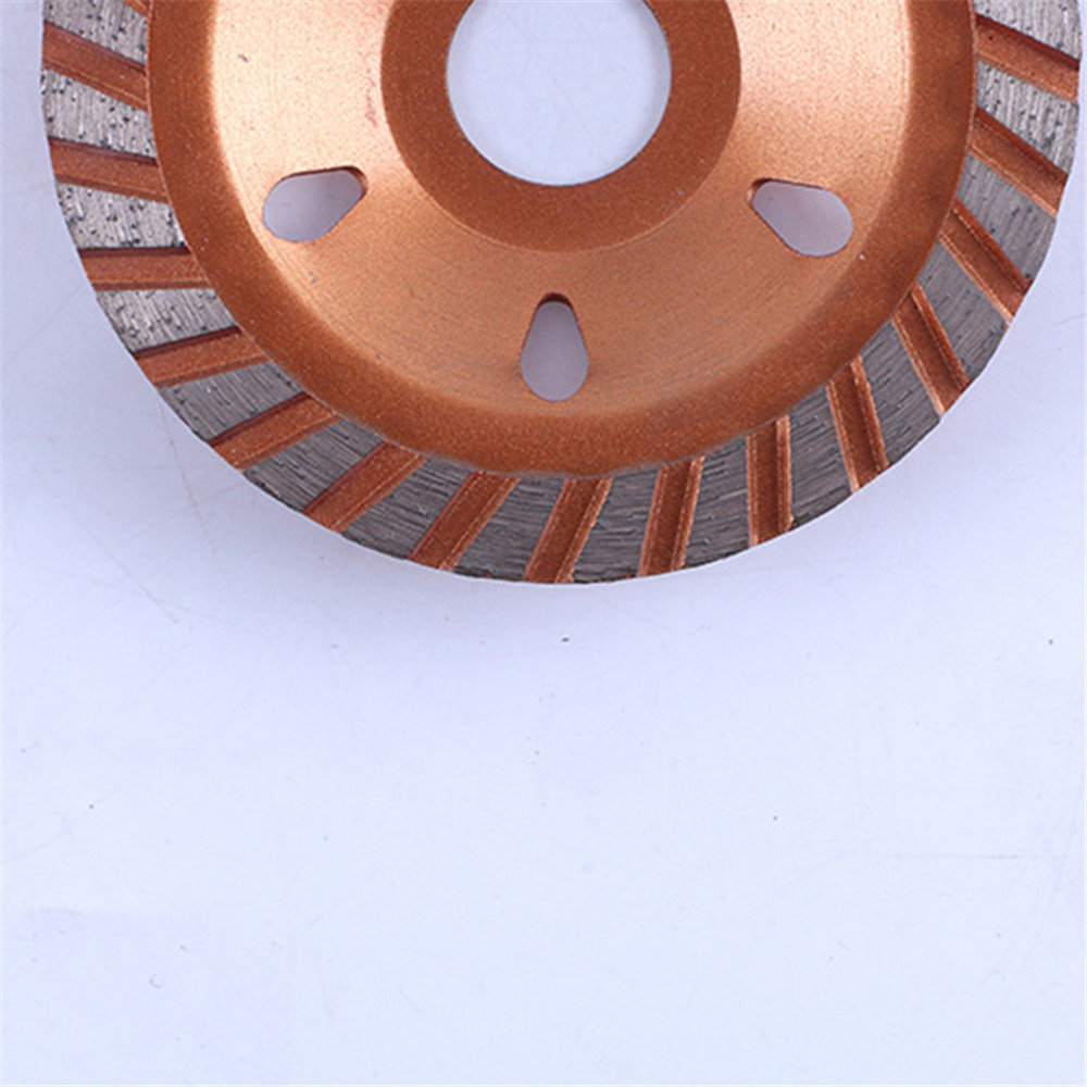 100mm Diamond Segment Grinding Cup Wheel Disc Grinder Granite Stone