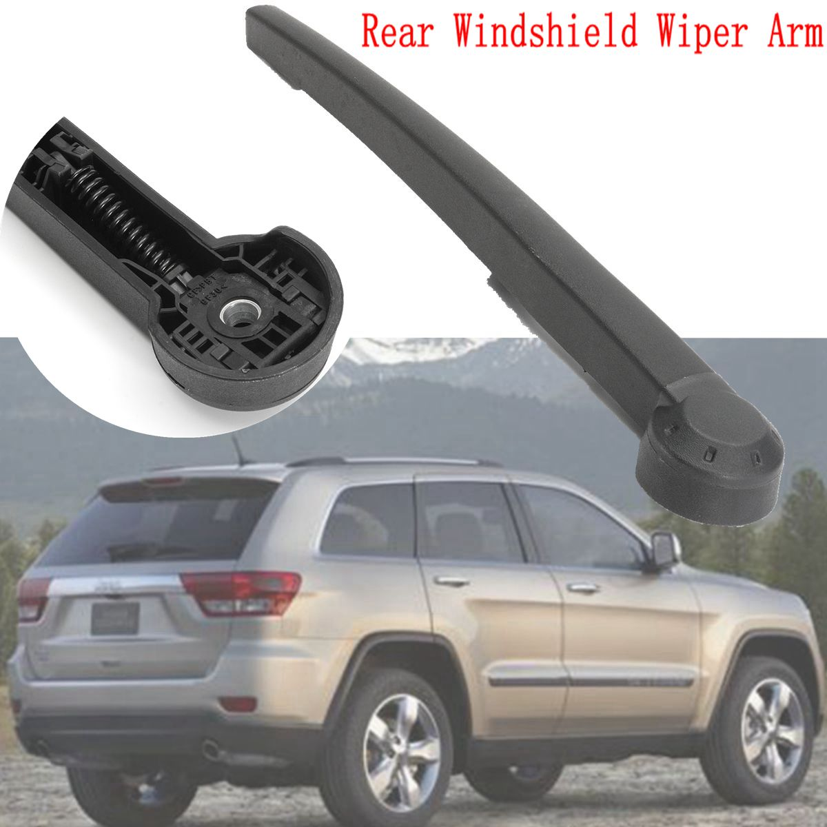 Rear Wind Shield Wiper Arm For Jeep Grand Cherokee 2005 2006 2007 2008 2009 2010