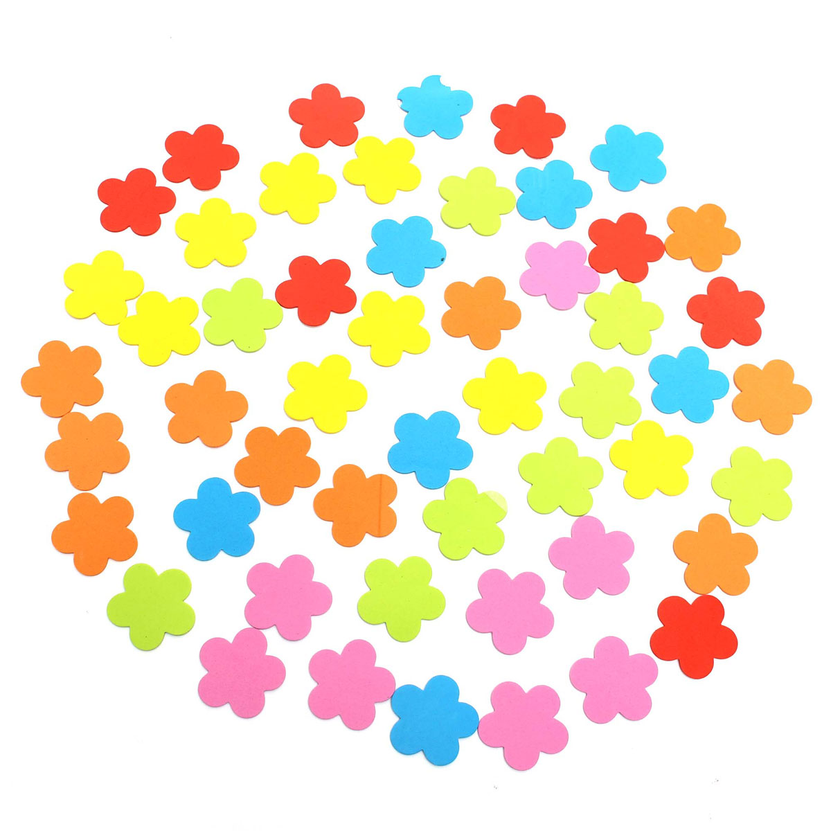 70Pcs Baby Kids Room Flower Foam Removable DIY Quote Decal Mural Crafts Wall Stickers Kindergarten Decoration