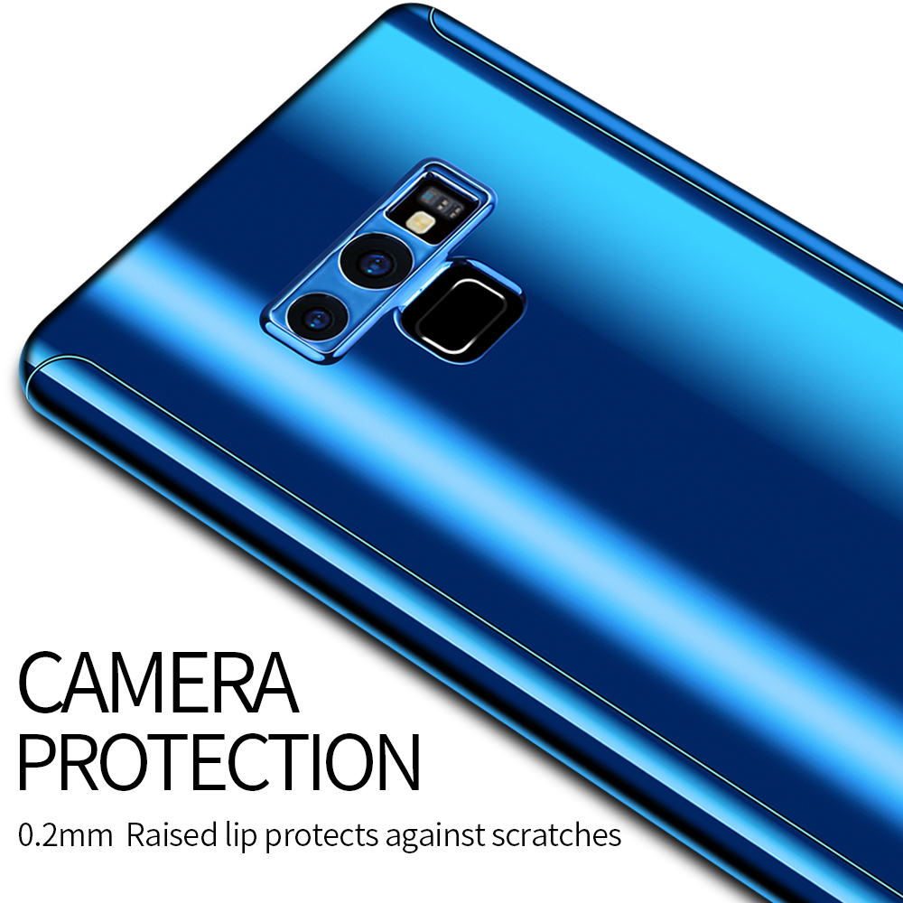 Bakeey Plating Full Body Front & Back Cover Protective Case With Screen Film For Samsung Galaxy Note 9
