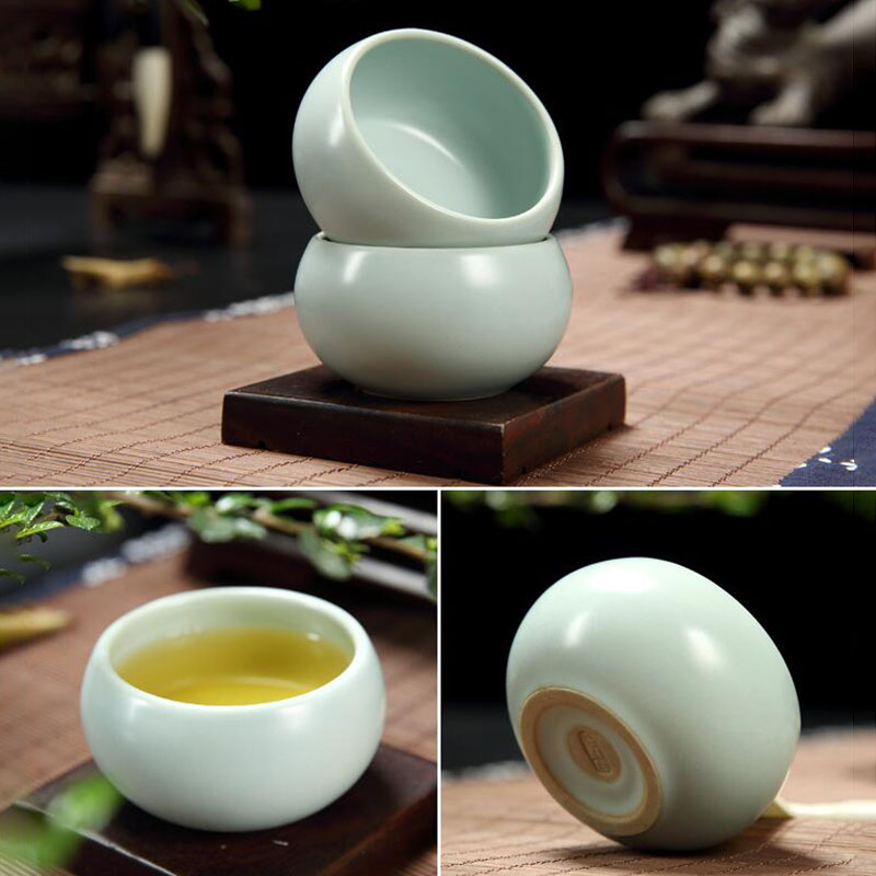 55ml Ru kiln Tea Cup Opusculum Ceramic Kung Fu Tea Cup