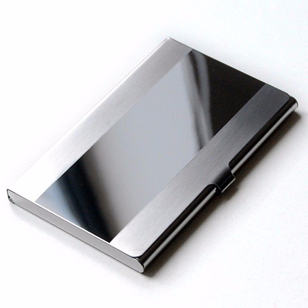 Men Business Bank Stainless Credit ID Card Case Holder