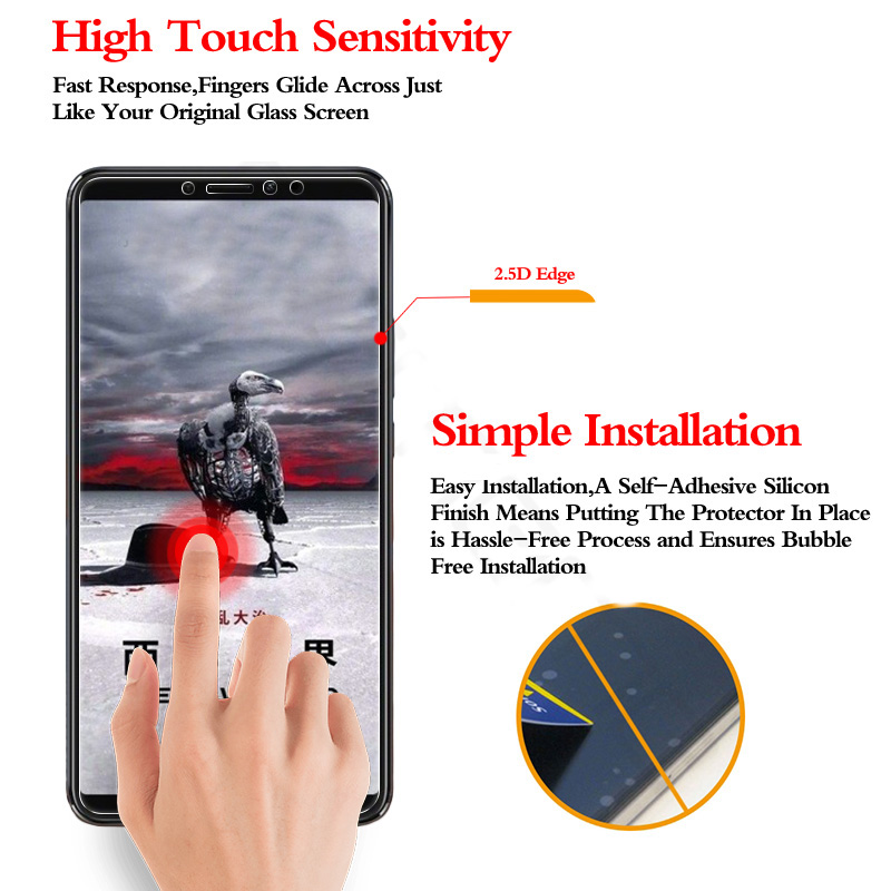 Bakeey Anti-Explosion Tempered Glass Screen Protector For Xiaomi Mi Max 3