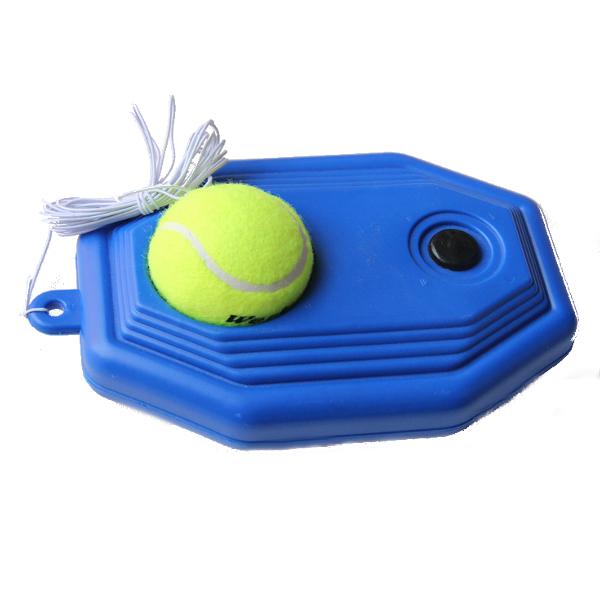 Tennis Self Practice Ball Base Plastic Training Equipment For Beginner