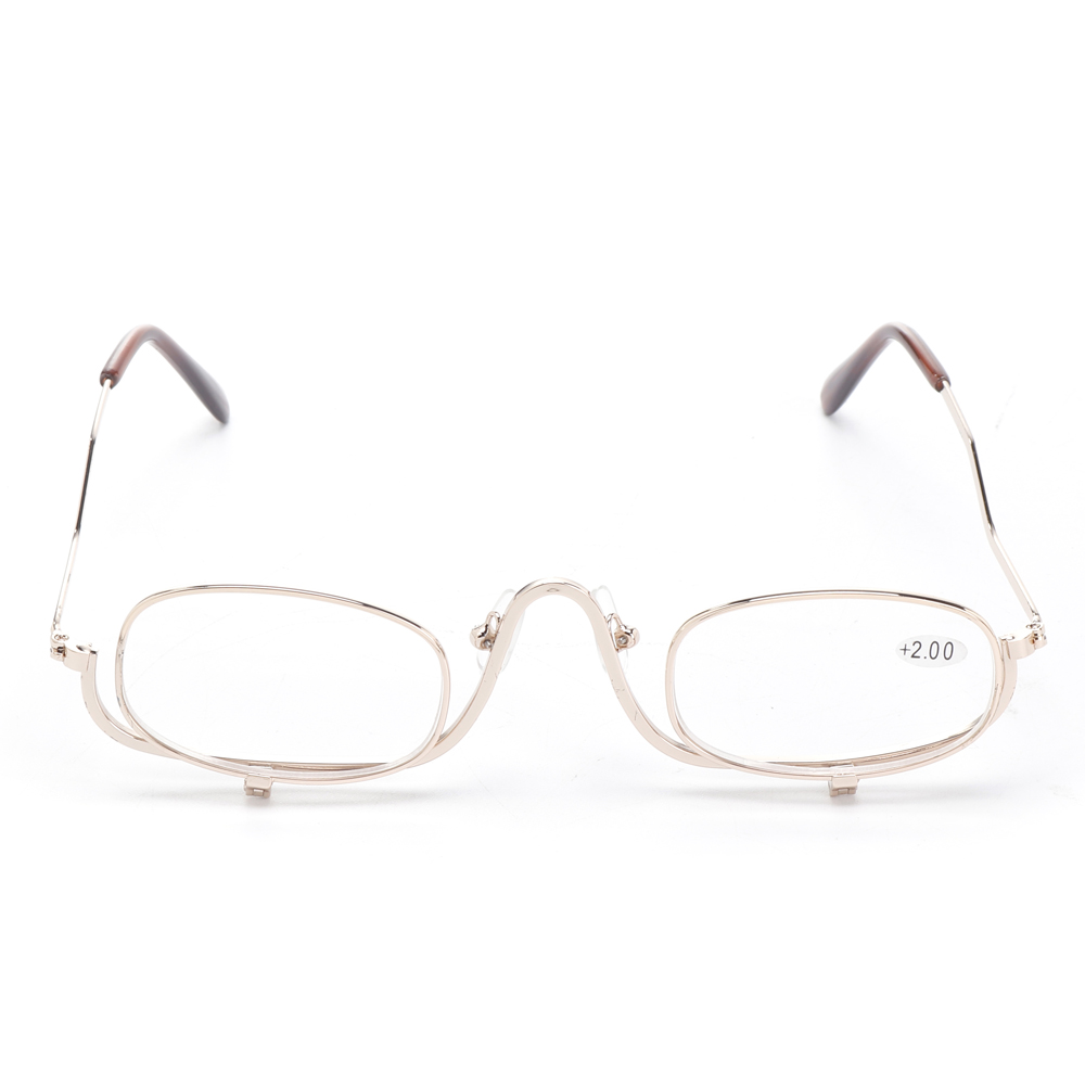 Magnifying Makeup Reading Glasses Enlarged Cosmetic Eyeglass