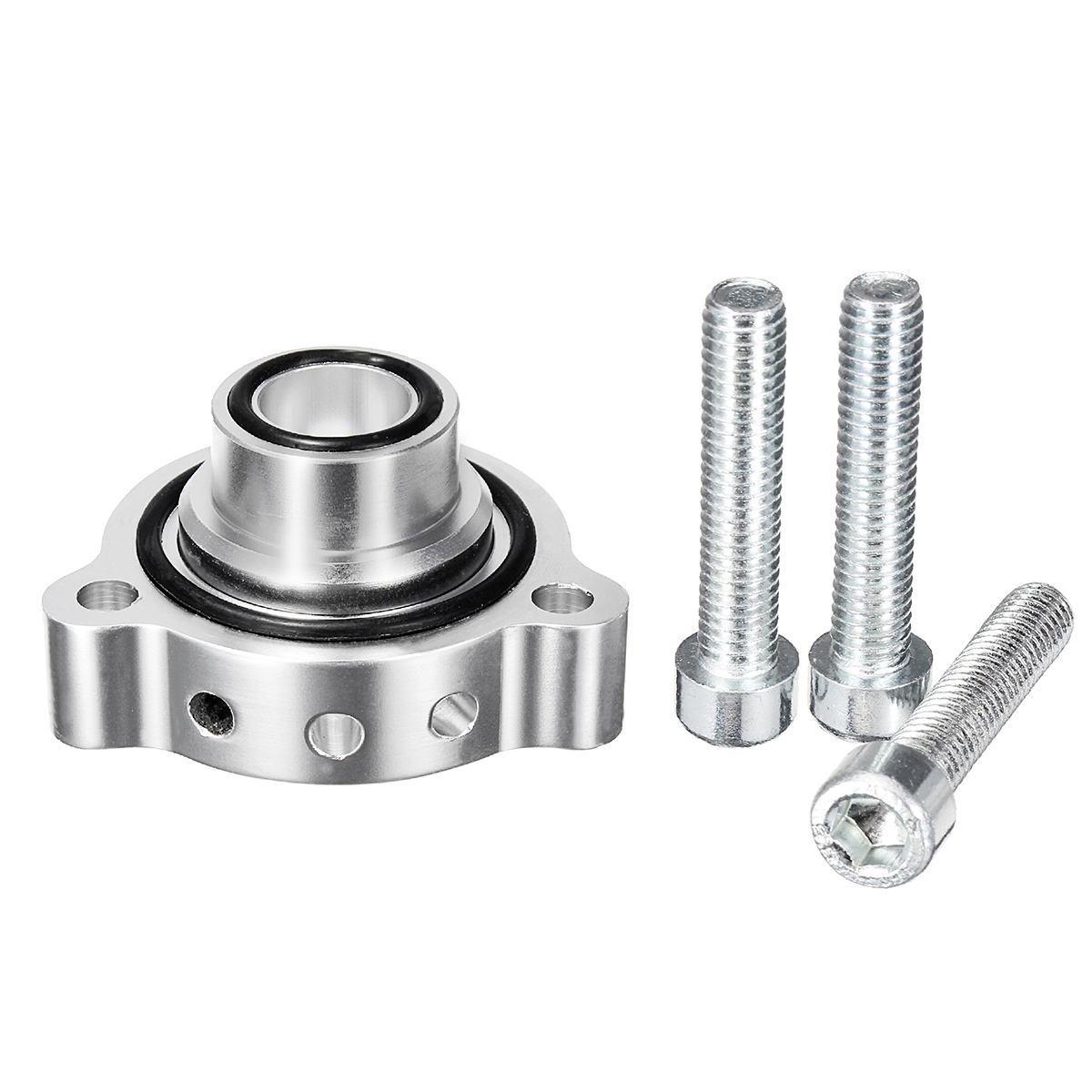 Turbocharger Turbo Blow Off Dump Valve BOV Adapter w/Bolts For BMW Mini Cooper S