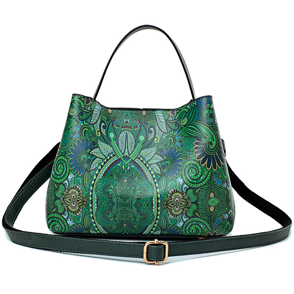 Women Leisure Spring Forest Printing Handbags Crossbody Bags