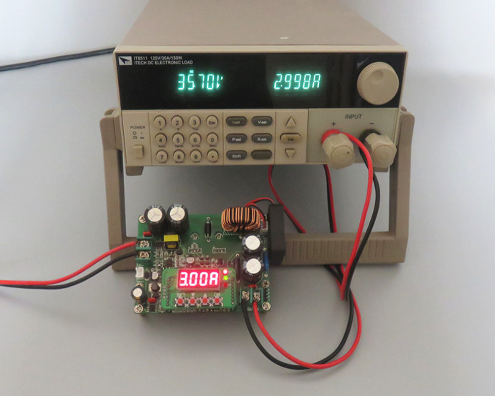 Power Supply Regulator 53v Max Output 2a By 2n3055