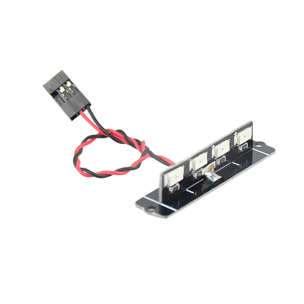 5V Red Taillight LED Board With Lampshade for RC Drone FPV Racing QAV250 280