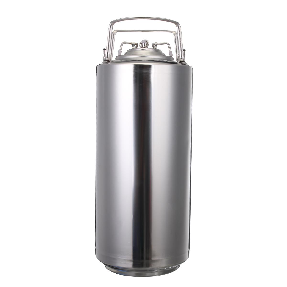 18.5L 304 Stainless Steel Home Brew Keg Bottles Growler Fresh Beer Making Barrels