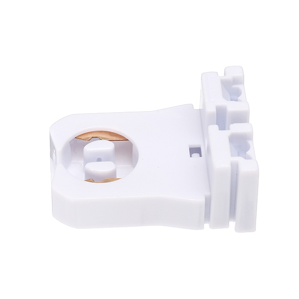 LUSTREON Non-shunted 600W T8 Lamp Holder Socket for LED Fluorescent Tube Replacements