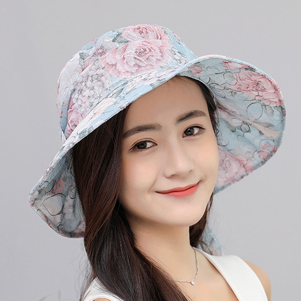 Summer Cap Collapsible Beach Anti-UV Bucket Hat