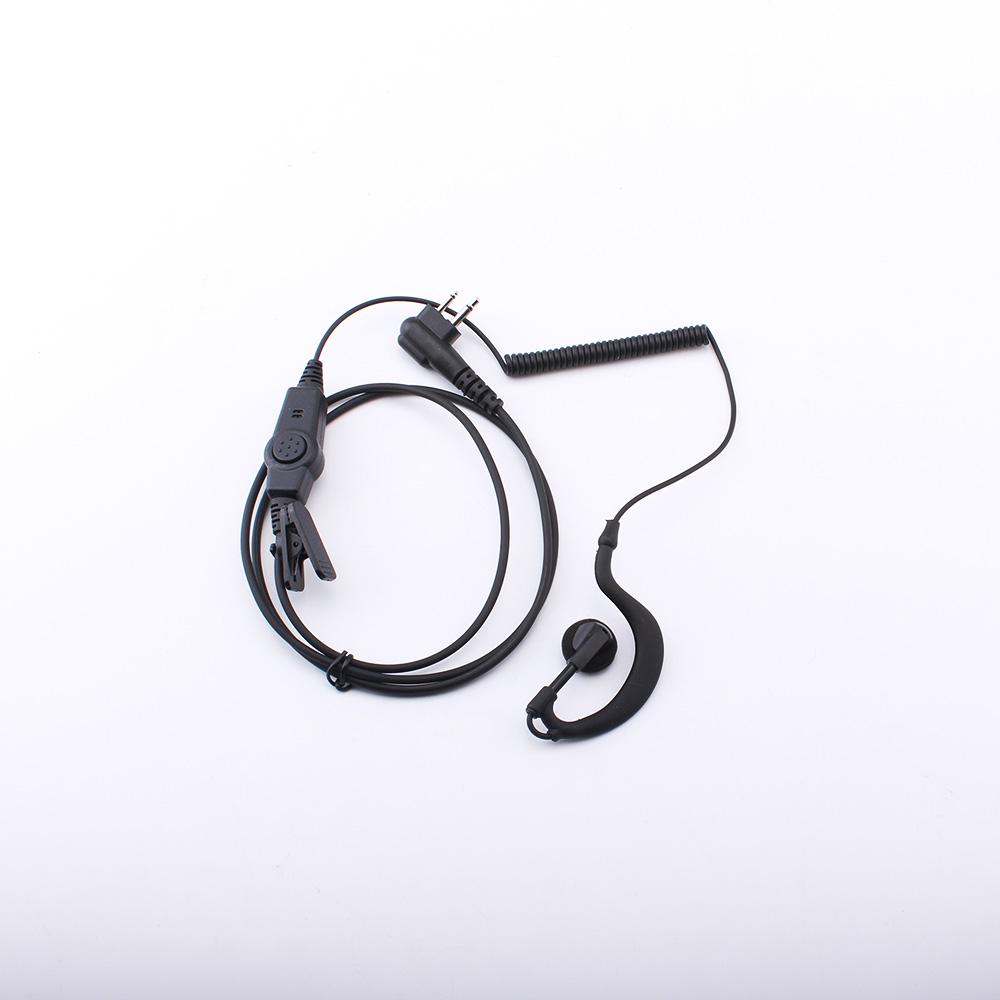 M-013 Curve Headphones Intercom Headset M Connector Earphone