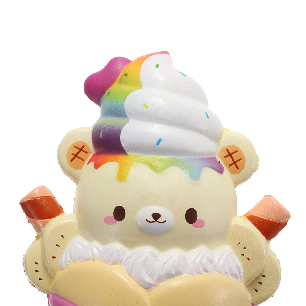 Yummiibear Bear Squishy Crepe 14CM Huge Licensed Slow Rising With Packaging Jumbo Soft Toy