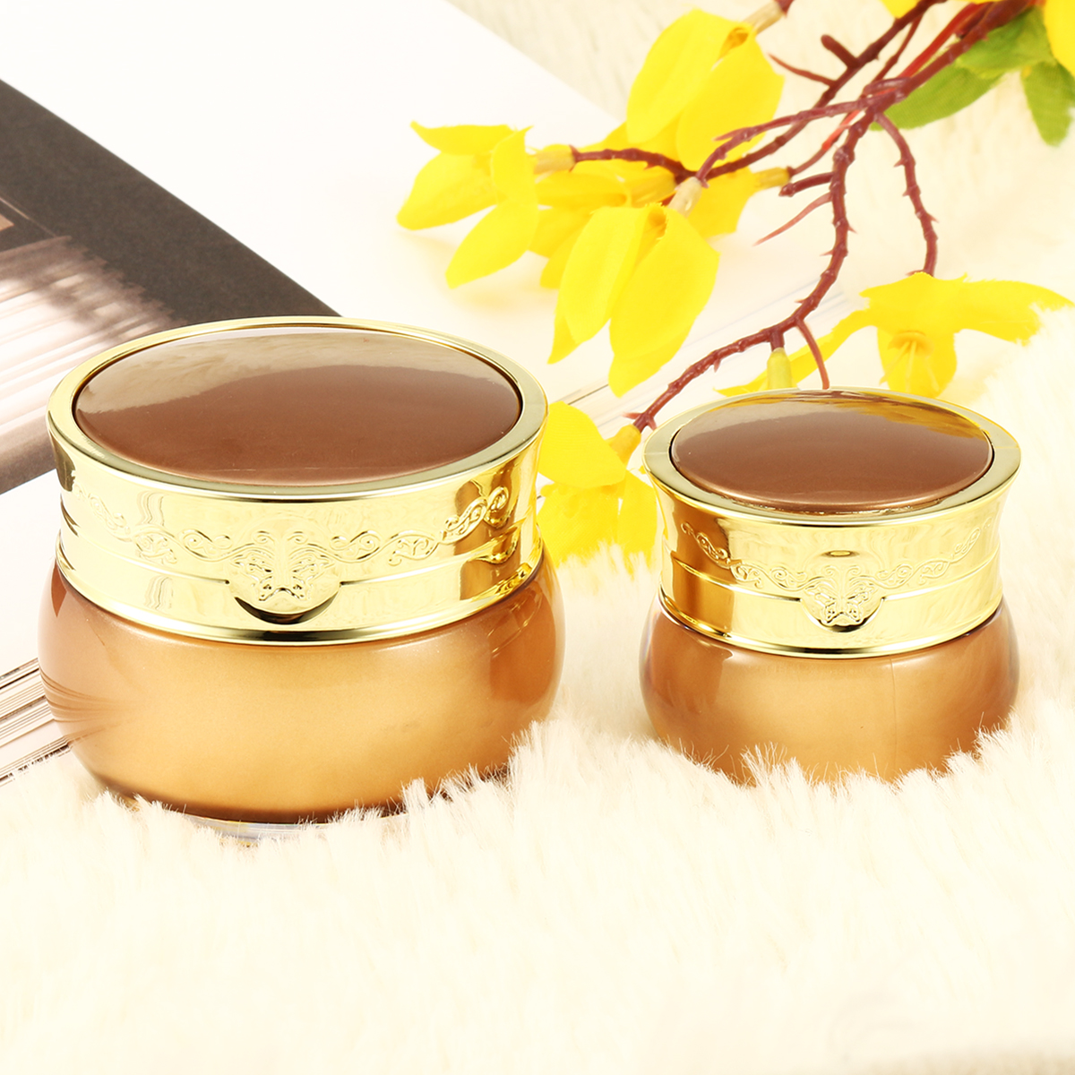 Empty Jar Container Cosmetic Cream Lotion Bottles