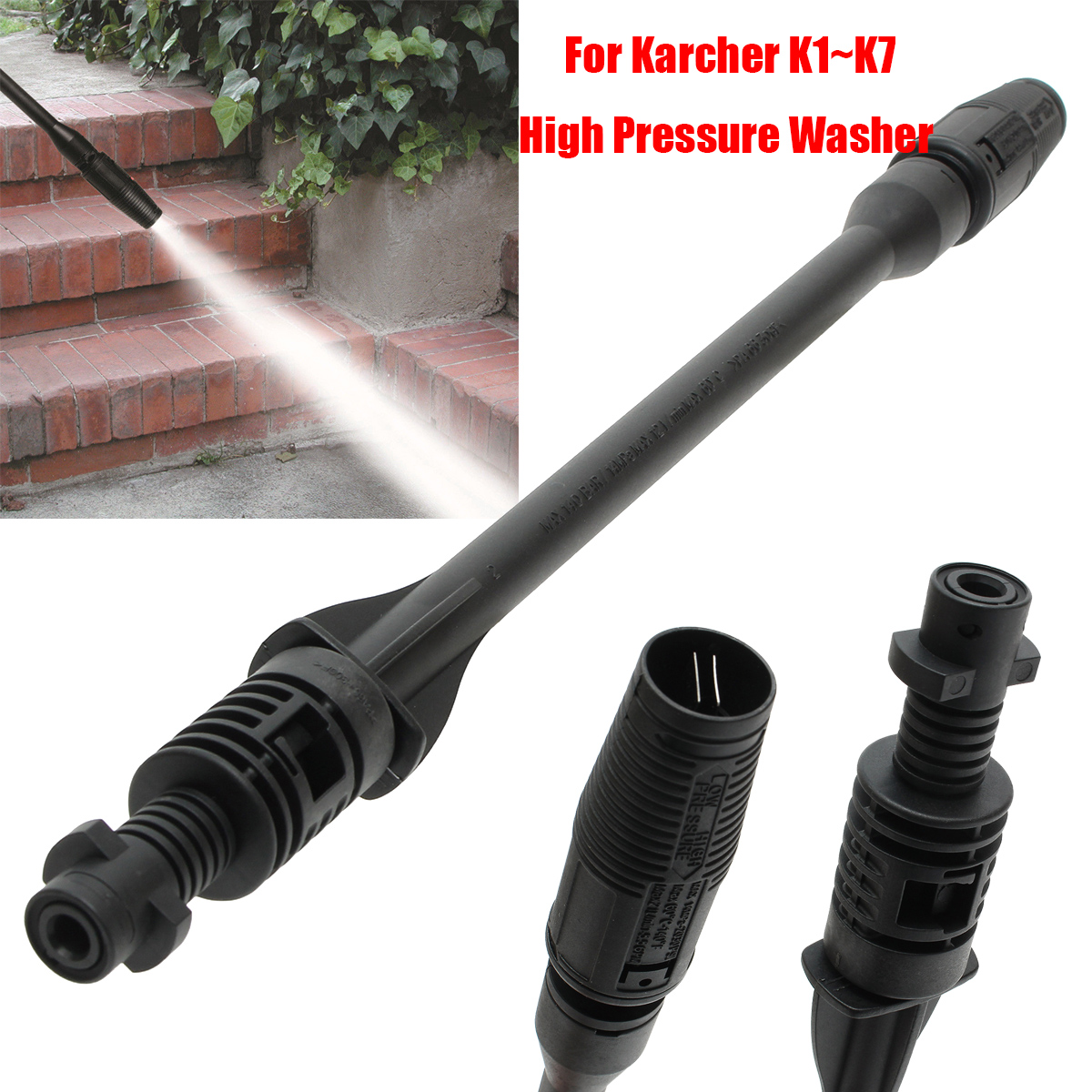 Car Washer Jet Lance Nozzle for Karcher K1 K2 K3 K4 K5 K6 K7 High Pressure Wash
