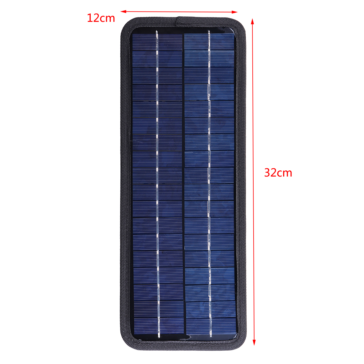 4.5W 12V Solar Panel Trickle Battery Charger System Single Crystal Silicon Waterproof for Boat Auto