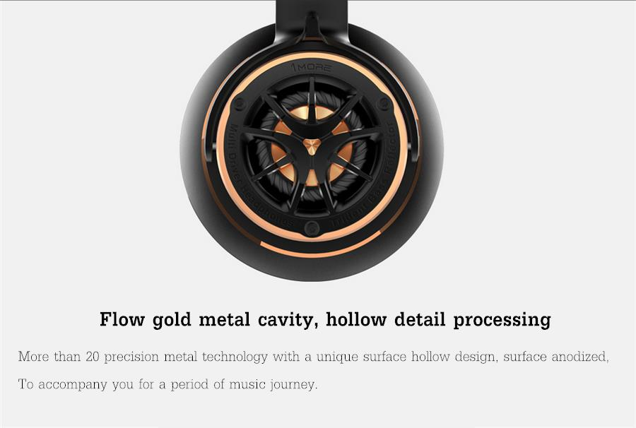 Xiaomi 1MORE H1707 Triple Drivers HIFI Stereo Bass Music Hollow Design Over Ear Headphone Headset