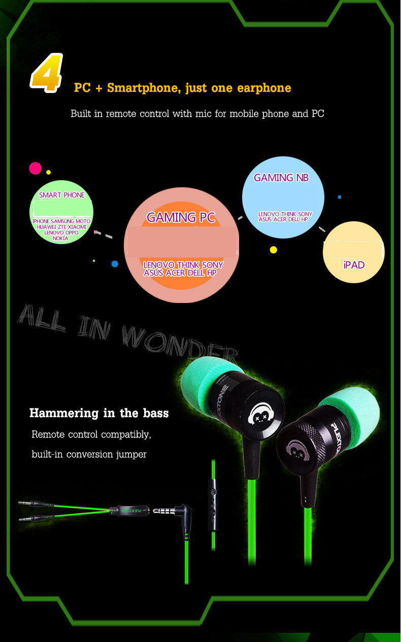 PLEXTONE G10 Professional Gaming Noise Canceling Memory Foam Earphone Headphone With Mic