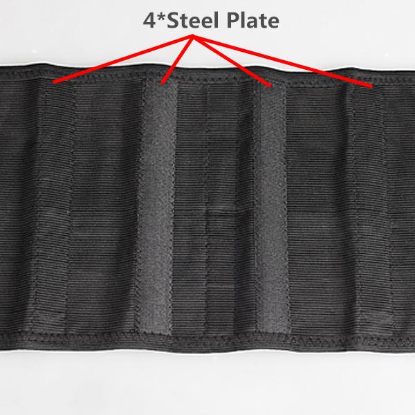 Mesh Breathable Waist Belt Steel Plate Protection Shapewear