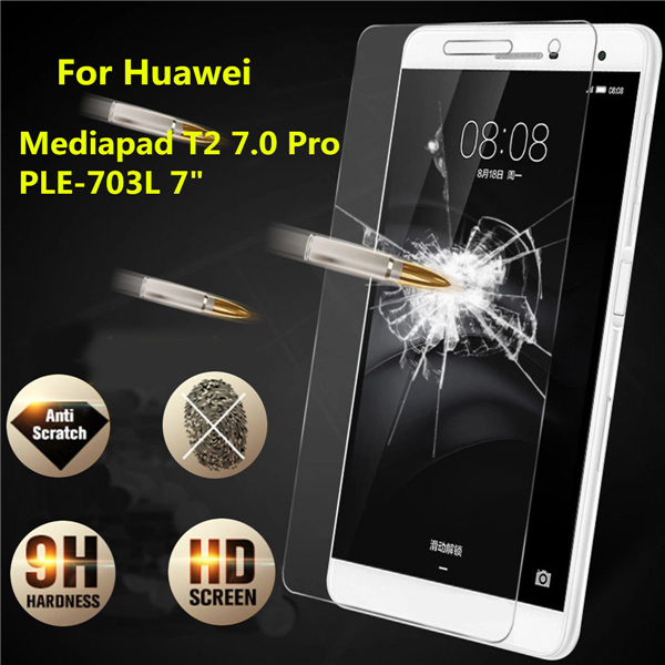 Tempered Glass Film Screen Protector For 7 Inch Huawei Mediapad T2 7.0 Pro PLE-703L Tablet