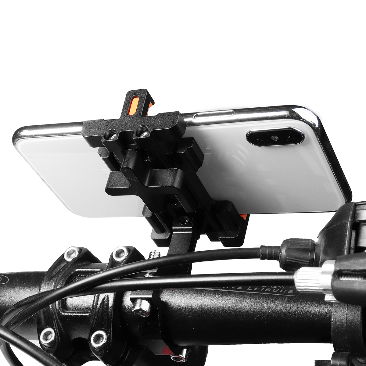 Universal Aluminum Handlebar Mobile Phone Holder Mount Stand For Motorcycle Bicycle Bike MTB