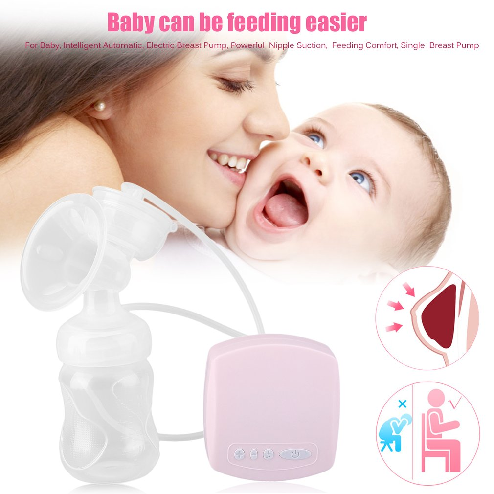 Automatic Electric Breast Pump Mamadeira Milk Pumps Natural Suction Enlarger Kit Feeding Bottle USB Breast Pump Milksucker BPA Free Baby Feeding