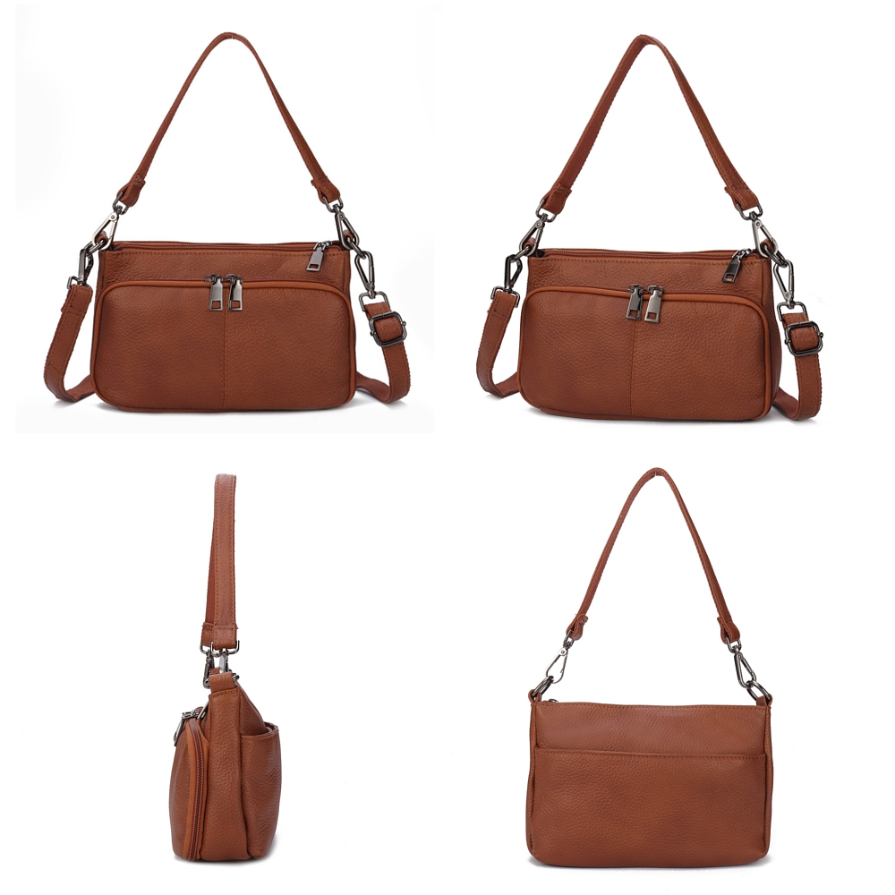 Brenice Women Multi-slot Casual Handbag