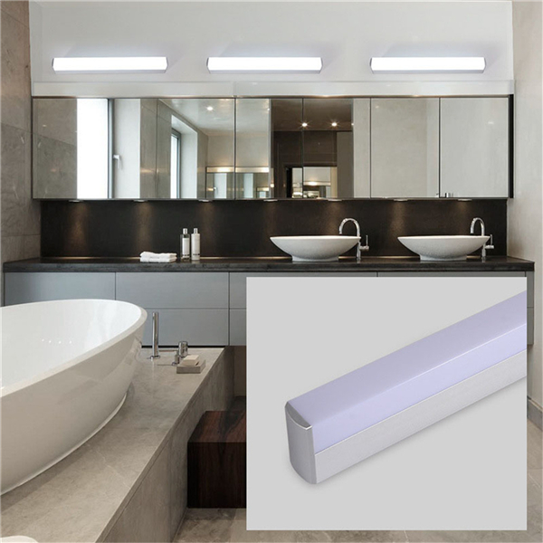 16W/22W LED Mirror Front Light Vanity High Power Aluminium Wall Lamp for Cabinet Bathroom AC85-265V