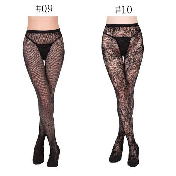 Sexy Lace Multi Pattern Tattoo Mesh Pantyhose Fish Net Deodorize Breathable Stockings