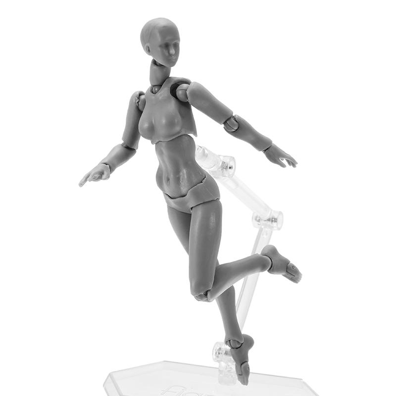 BJD SHF Figures Body Figma 2.0 Deluxe Edition Gray Fema