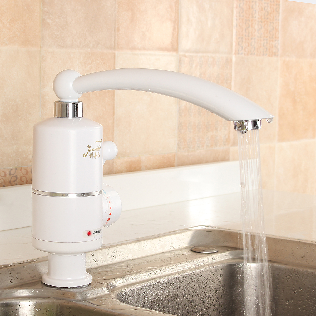 220V 2000W Tankless Electric Heating Tap Instant Electric Water Heater Faucet Tap