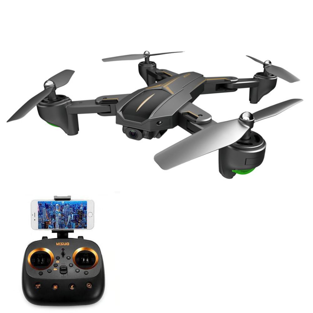 VISUO XS812 GPS 5G WiFi FPV w/ 2MP/5MP HD Camera 15mins Flight Time Foldable RC Drone Quadcopter RTF