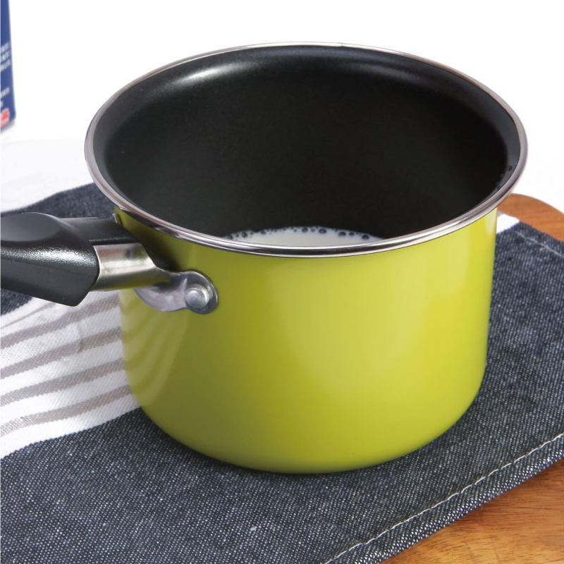 Portable Heating Pot Carbon Steel Mini Chocolate Milk Sauces Cuisine Pan Picnic Pot Gas Cooker
