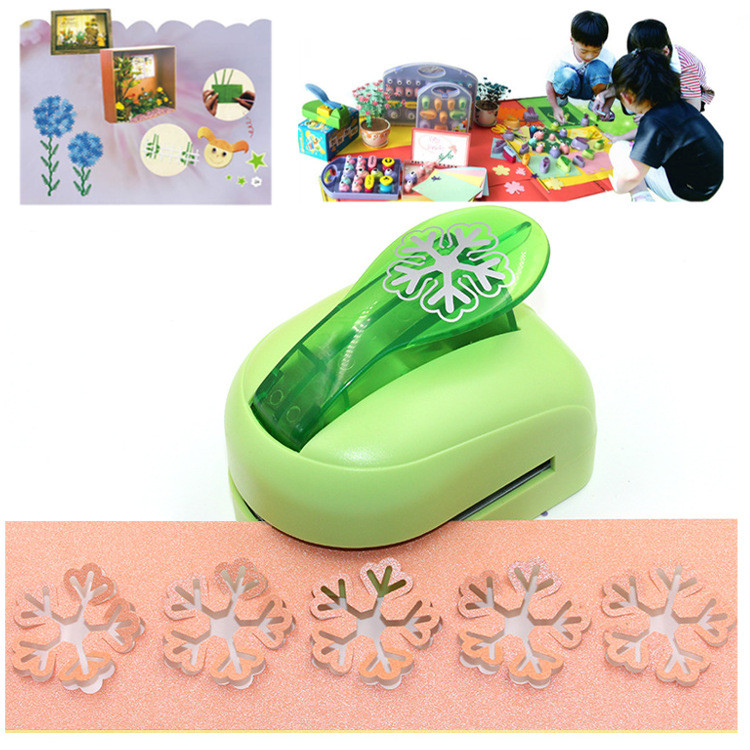 Snowflake DIY Craft Punch Paper Shaper Cutter For Card Making Scrapbooking Tool
