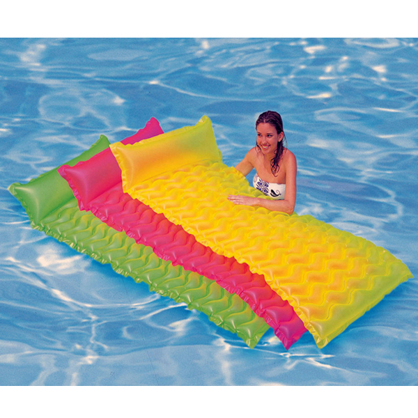 IPRee™ Wave-like Transparent Floating Row Air Mattresses Inflatable Water bed Summer Toys
