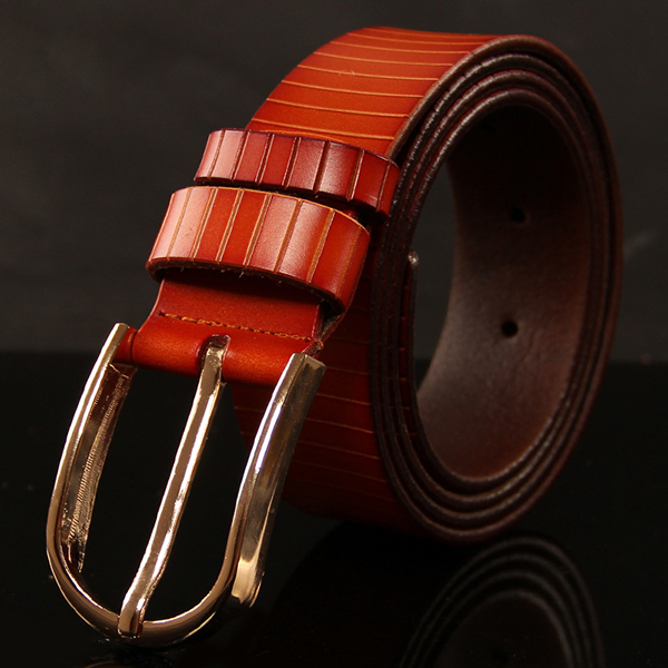 Mens Classic Dress Leather Belt