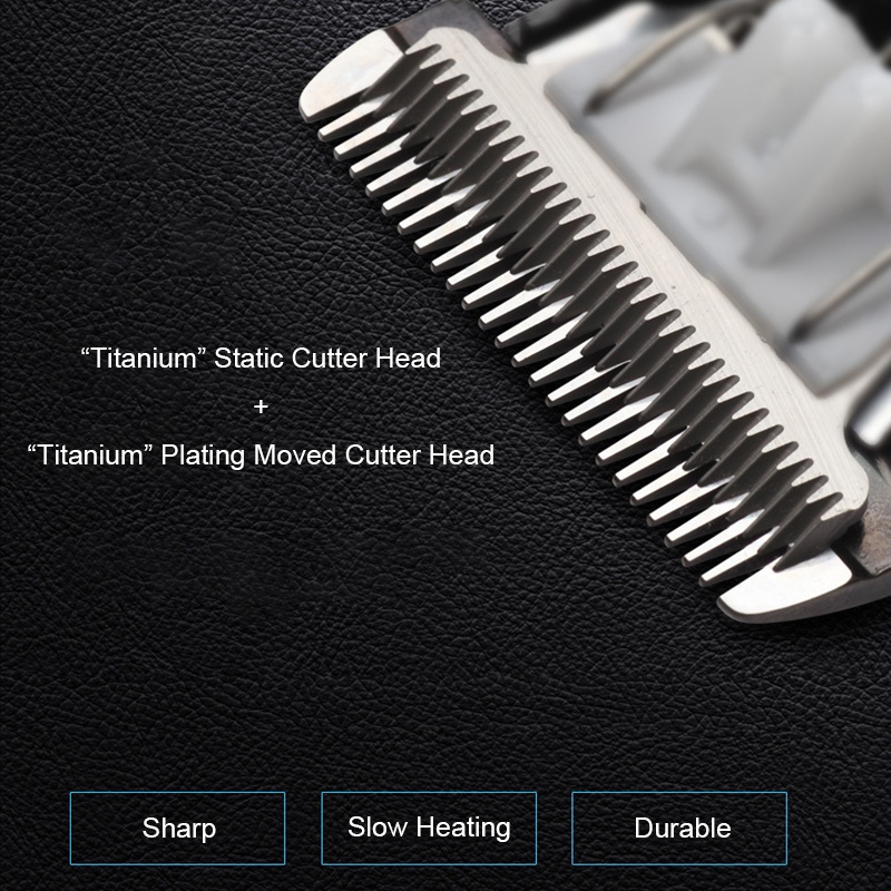ReWell Electric Rechargeable Titanium Cordless Hair Trimmer