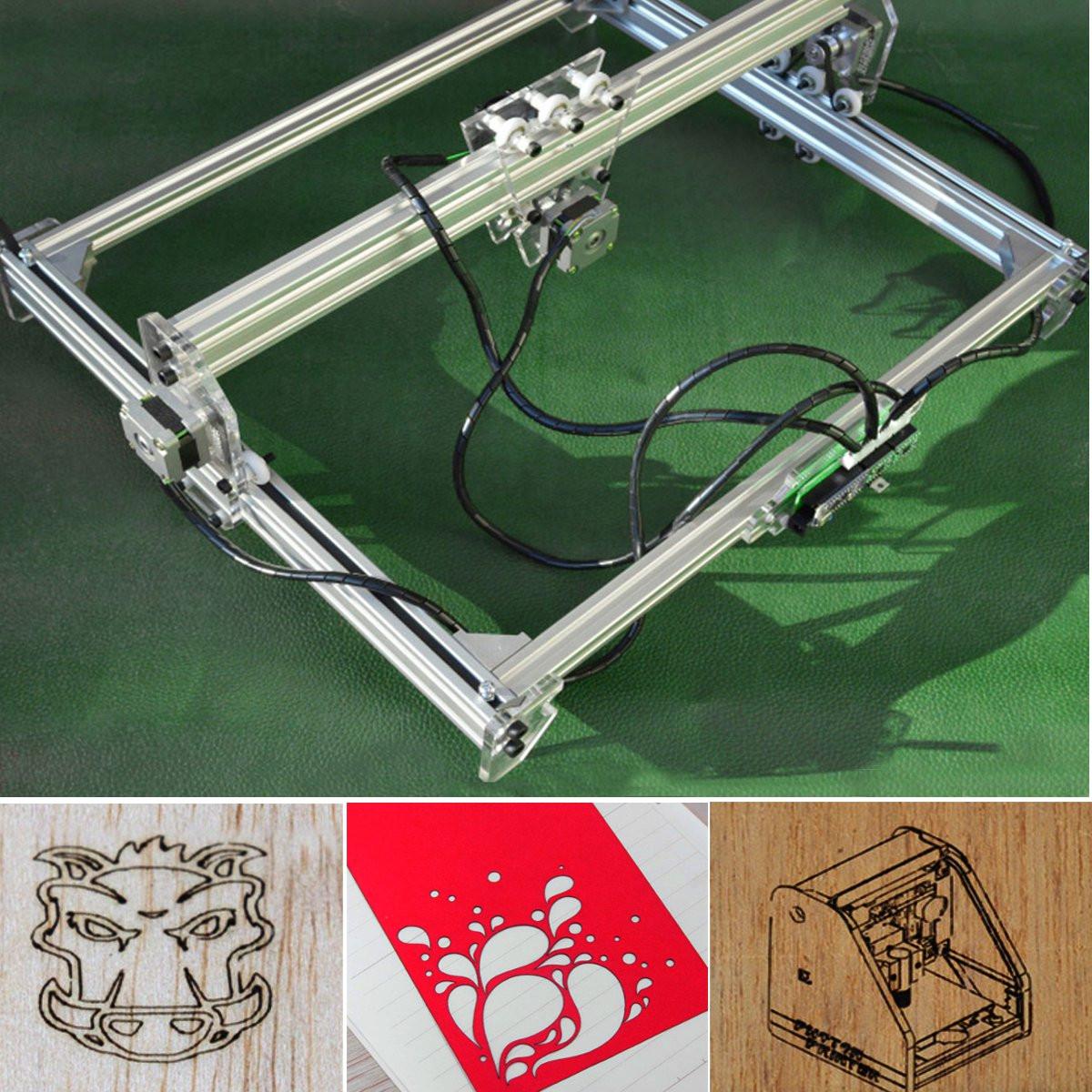 50×65cm Engraving Area 3000MW Laser Engraving Machine DIY Kit Desktop Laser Cutting