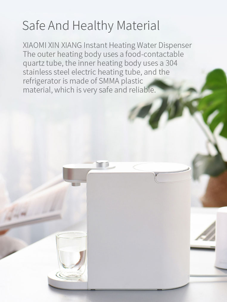 SCISHARE S2101 Smart Instant Heating Water Dispenser 3 Seconds Water 1.8L From Xiaomi Youpin