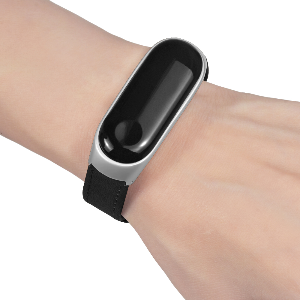 Bakeey Matte Case Watch Strap Skin Soft Design Watch Band for Xiaomi Miband 3