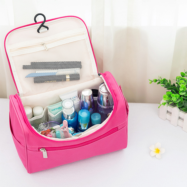 Women Oxford Large Capacity Storage Bag Cosmetic Bag Travel Bag