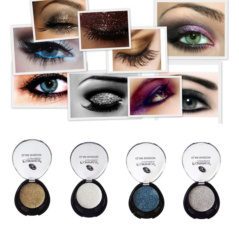 Eye Shadow Shimmer Pearl Glitter Pigment Face Cosmetic 4 Colors