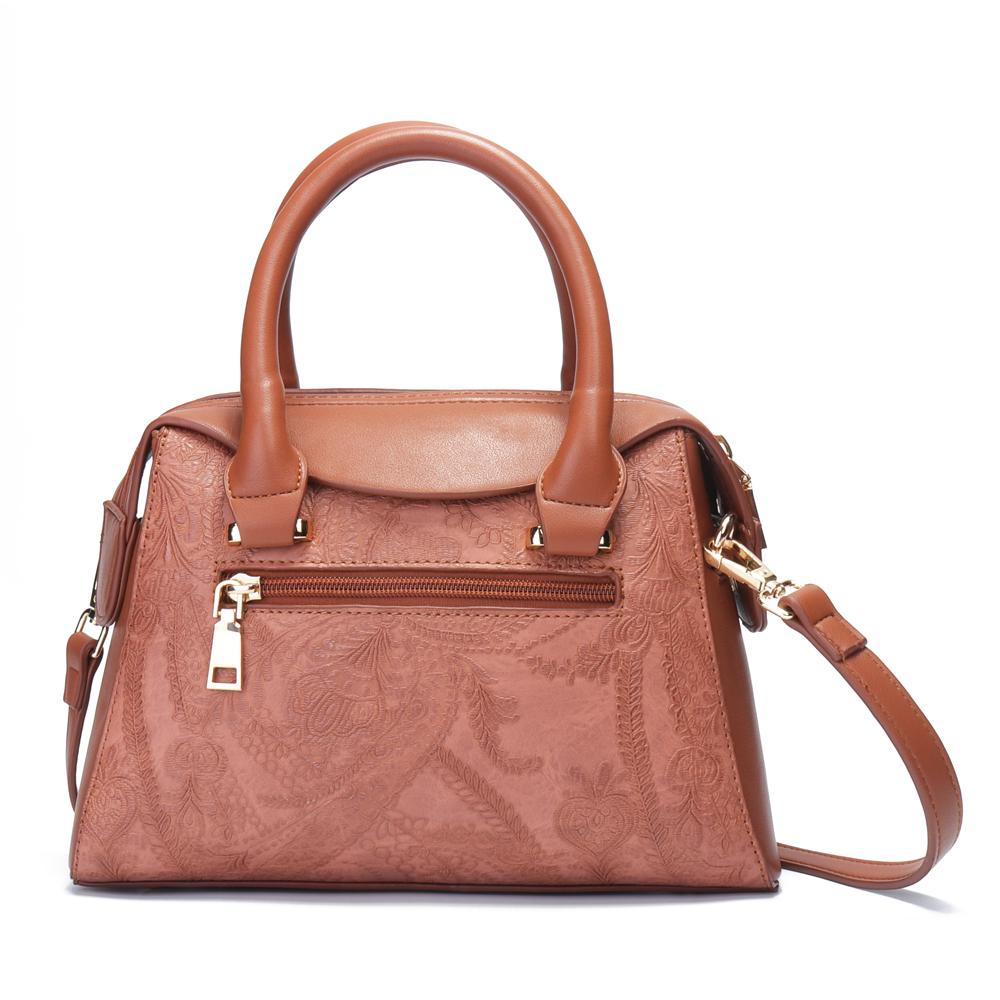 Brenice Women Embroidered Handbag Elegant Crossbody Bag
