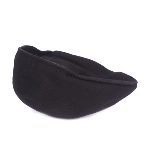 Mens Solid Wool Warm Sport Beret Cap