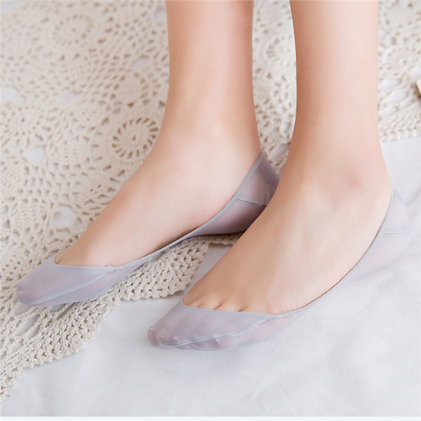 Women Cotton Breathable Non-Slip Boat Socks
