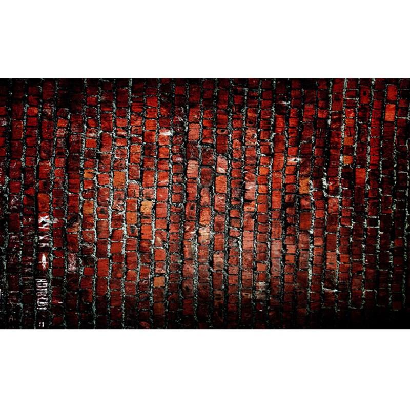5x7FT Vinyl Brick Wall Floor Photography Backdrop Background Studio Prop